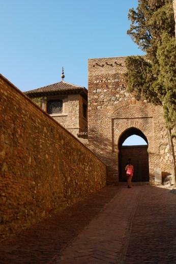 Pathway and gateway to Alcazaba de Málaga - Malaga, Spain (7), InFocus: Alcazaba de Malaga