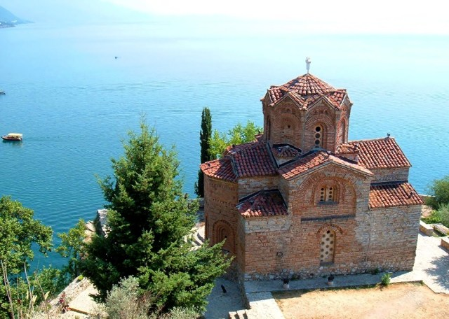 Sveti Jovan at Kaneo, Ohrid, Macedonia