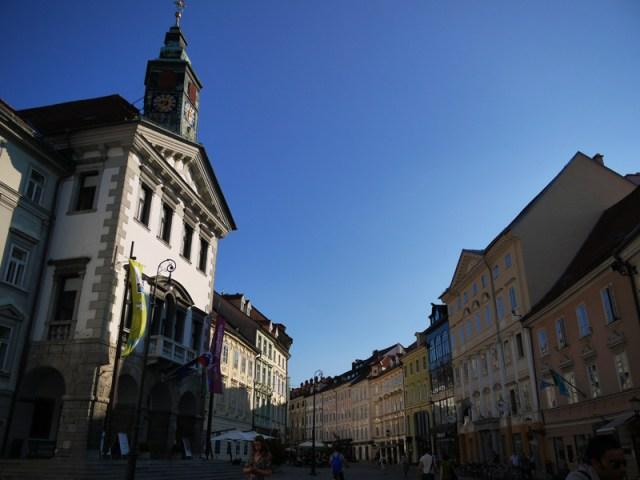 Cycling, tight rope walking and the tiny capital of Ljubljana