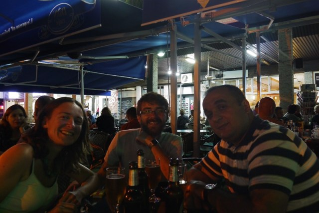 Prishtina hitchhike, staying with a Kosovar businessman and a grim grey cafe culture