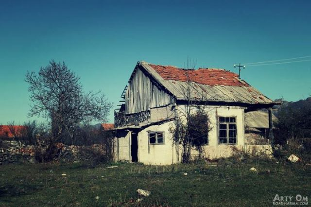 Arty Om - Abandoned house IN The village of Dsegh, Lori Province, Armenia