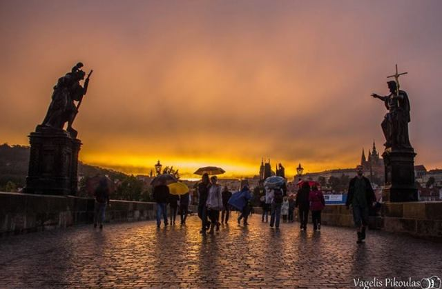 Vagelis Pikoulas - Charles bridge, Prague, Czech Republic
