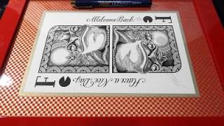 マーカットさんの線画、制作過程