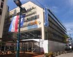 解体工事が進められている「オアフクラブ」の旧建物(2016年8月8日)