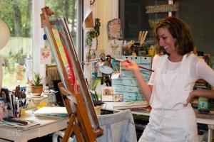 Inside the Artist Studio::Beth Melton-Seabrook Part I
