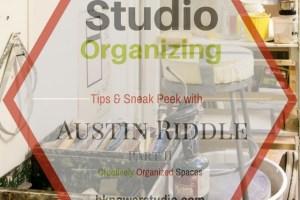Austin Riddle's Arrowmont Studio Part II