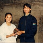 "吳冰姸奪得女子最佳籌款獎 Ms. Venus B. Y. Ng, awarded the title ""Best Fund-Raising Woman"""