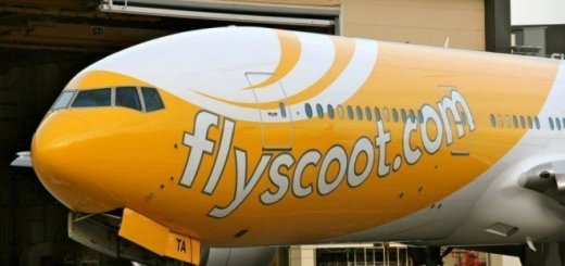 flyscoot plane