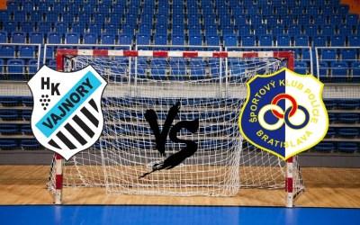 Vajnory vs SKP Bratislava
