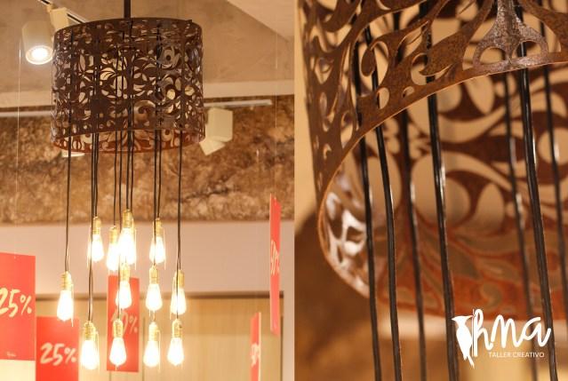 lamparas, mobiliario hma taller creativo publicidad