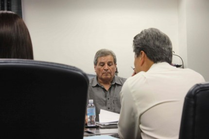 Central Basin Water District President James Roybal in Commerce on Wednesday.  Randy Economy Photo
