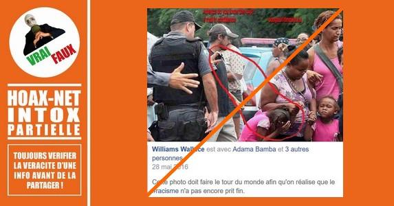La photo est bien réelle, mais les faits ne se sont pas déroulés aux États-Unis, ni en Europe.