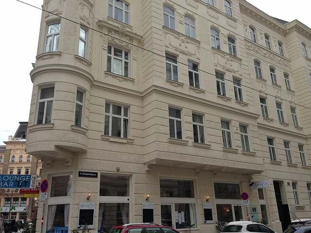オーストリアウィーンのホテルはアールヌーボ様式のTimeOutCityHotelVienna③