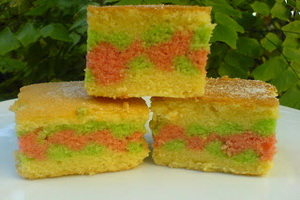 RESEP CAKE TAPE BERMOTIF