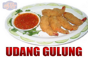 RESEP UDANG GULUNG