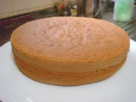 RESEP SPONGE CAKE(Tanpa Telur)