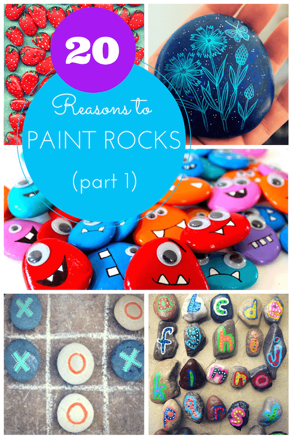 20 reasons to paint rocks 1