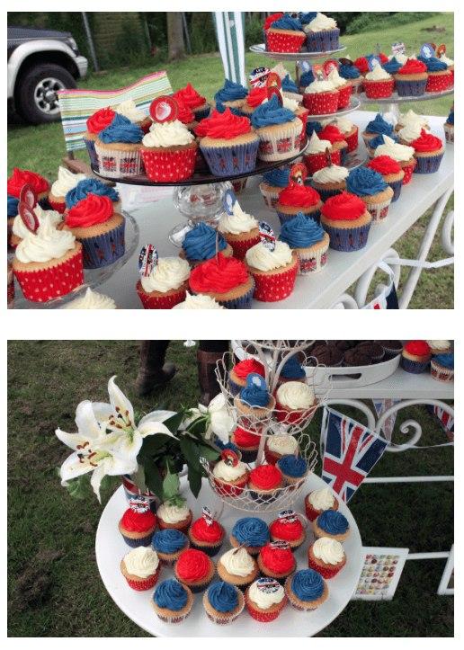 patriotic jubilee cakes