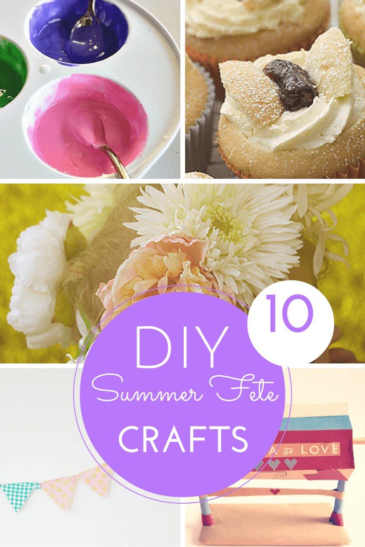 10 sensational summer fete crafts & activities round-up