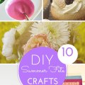 10 summer fete crafts