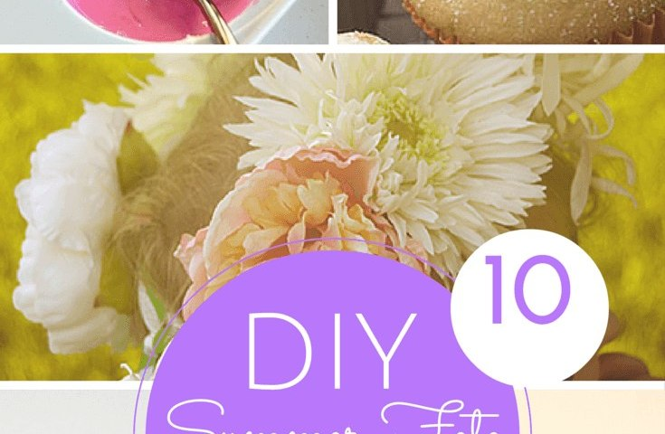 10 summer fete crafts