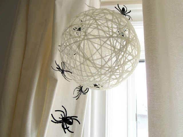 spiderweb orb decoration