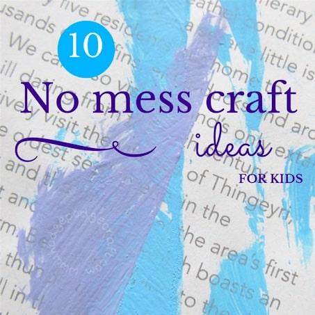 WM 10 no mess craft ideas for kids thumbnail