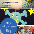 DIY jolly roger flag