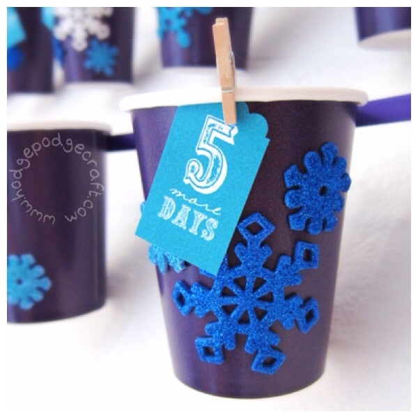 DIY paper cup advent calendar thumbnail