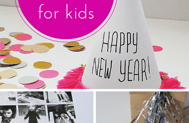 New Years Eve craft ideas for kids