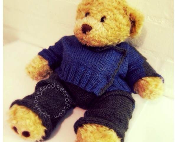 Nonno Bear special outfit
