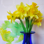 St David's day crafts: Love-spoons & Daffodils