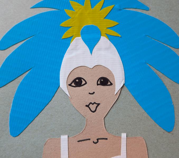 Samba dancer craft thumbnail