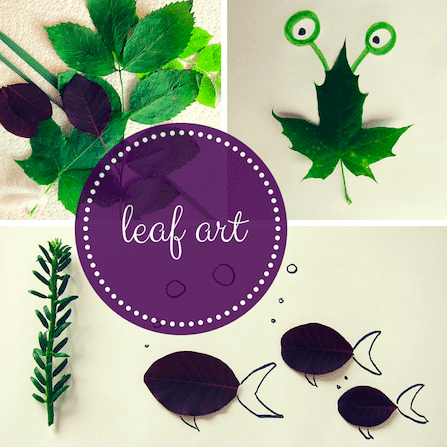 How to create Leaf Art (after an adventure)