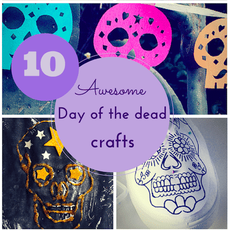 Day of the Dead crafts for kids thumnail