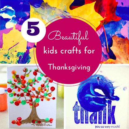 Crafts for Thanksgiving thumbnail
