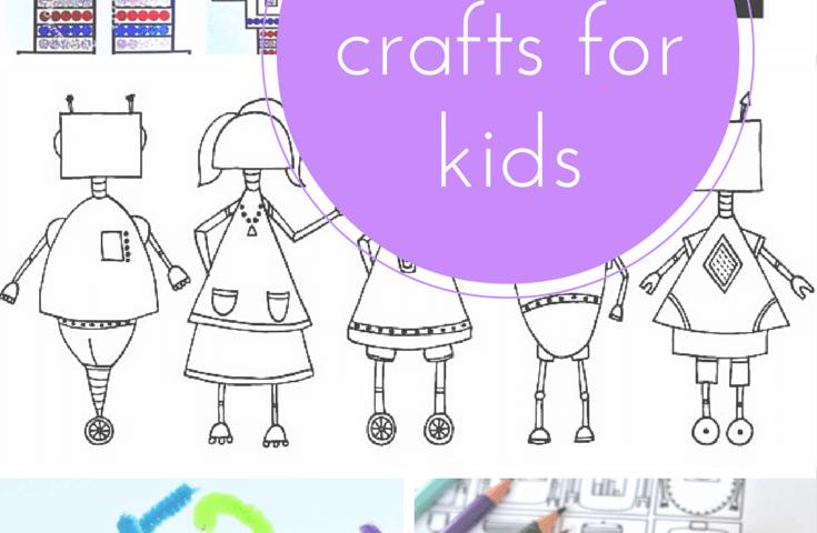 10 of the best robot crafts for kids. Black Bedroom Furniture Sets. Home Design Ideas