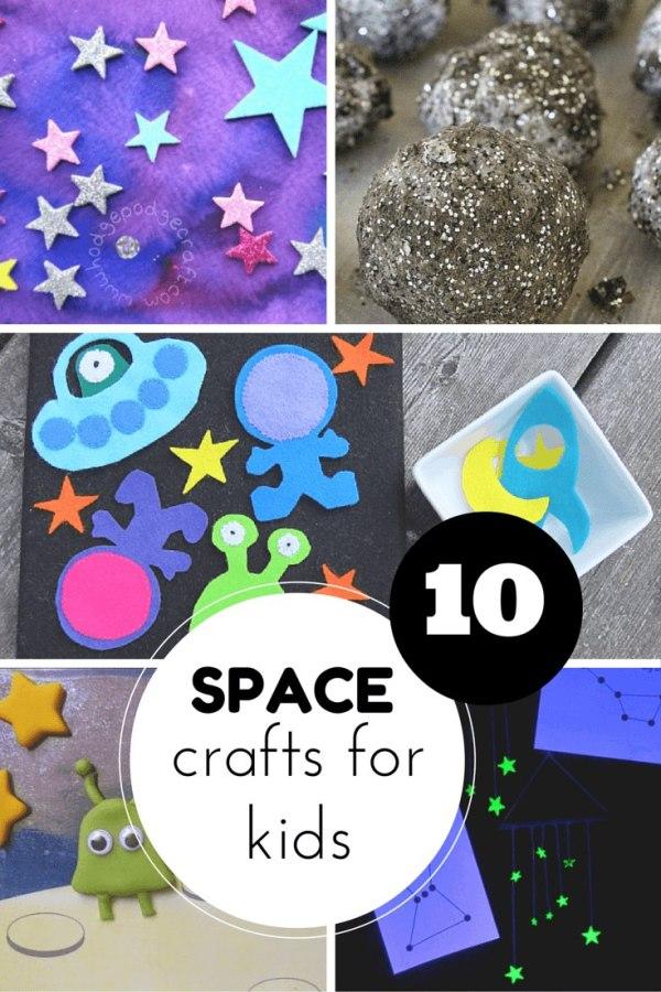 10 super space crafts for kids