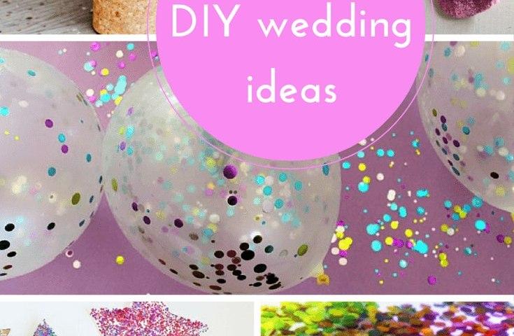 10 DIY-wedding ideas