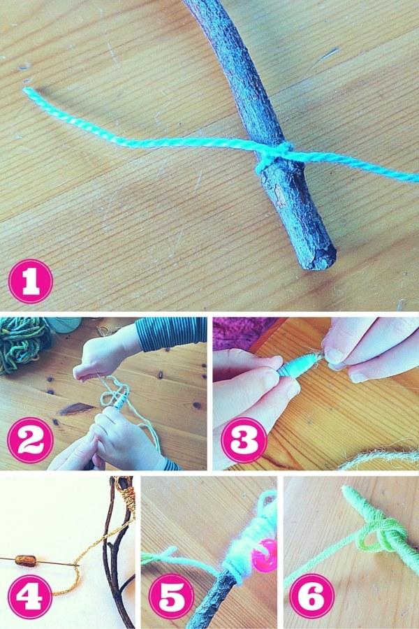 Yarn craft step by step