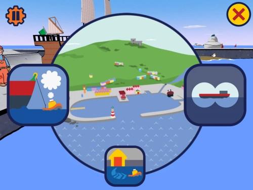 Toot the Tiny Tugboat app
