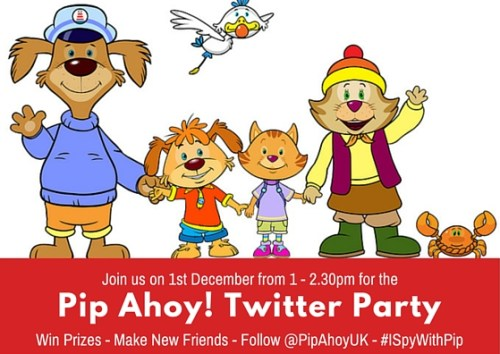 Pip Ahoy! Twitter Party