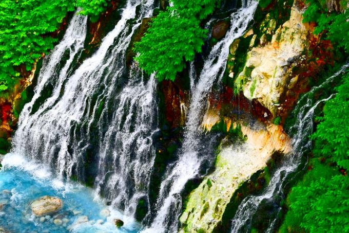 【美瑛町】しらひげの滝