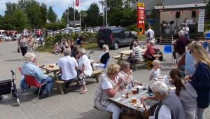 Gratis pølser og øl på lørdag på pladsen foran Orø Brugs