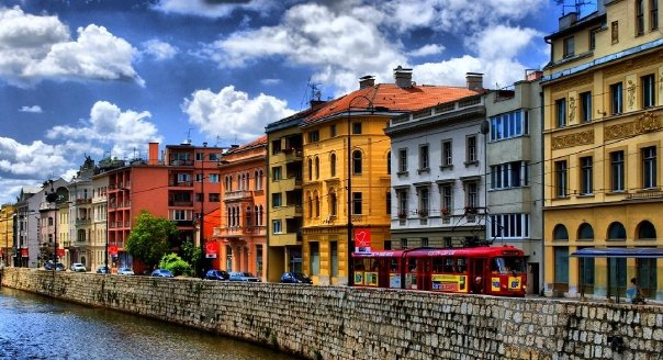Sarajevo-facades