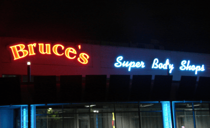 May 2105- things that go wrong with sign lighting bruces