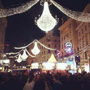 Vienna - party central.