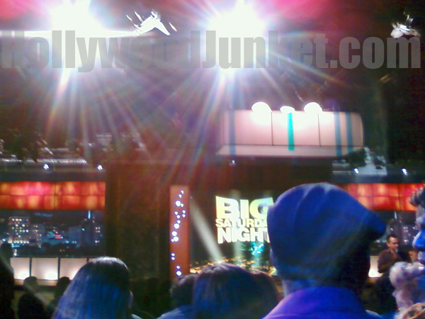 "Blue side audience at ""Big Saturday Night"" were big winners!"