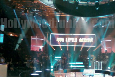 """Our Little Genius"" stage."