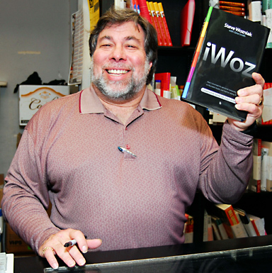 Apple Co-Founder, Wozniak is the hero of one Genius.  He stated that he was reading Wozniak's biography.